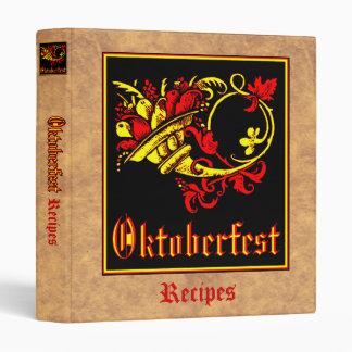 Oktoberfest Recipe Collection Binder