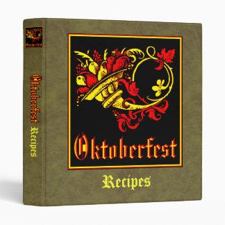 Oktoberfest Recipe Collection Binders