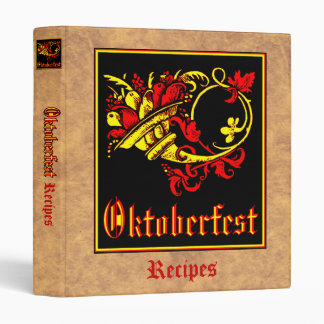 """Oktoberfest Recipe Collection Carpeta 1"""""""