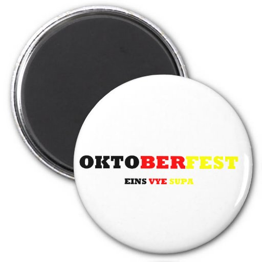 Oktoberfest Refrigerator Magnet