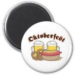 Oktoberfest Sausage Refrigerator Magnets
