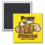 Oktoberfest should be Everyday. 2 Inch Square Magnet