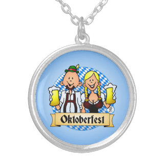 Oktoberfest Silver Plated Necklace