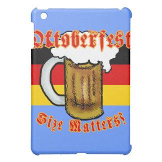 Oktoberfest Size Matters Fun Tshirt iPad Mini Cases