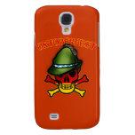 Oktoberfest Skull and Crossbones Design Galaxy S4 Case