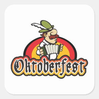 Oktoberfest Square Sticker