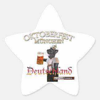 Oktoberfest Star Sticker