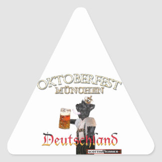 Oktoberfest Triangle Sticker