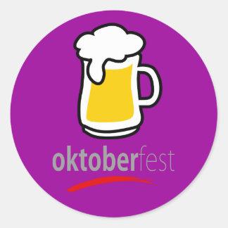 Oktoberfest Round Stickers