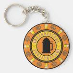 Oktoberfest Tankard Badge Keychains