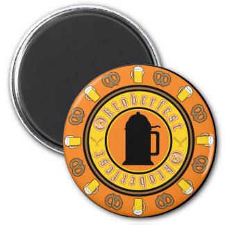 Oktoberfest Tankard Badge Magnet