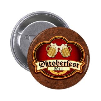 Oktoberfest Toast Custom Personalized Date Button