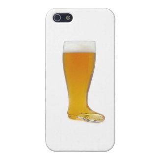 oktoberfest-vidrio-cerveza-bota iPhone 5 fundas
