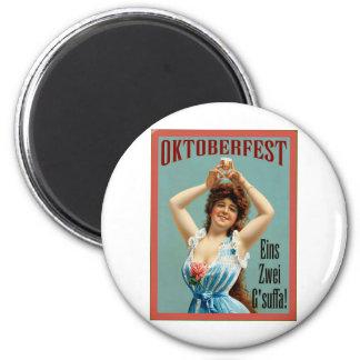 Oktoberfest  ~ Vintage Bavarian Advertising Poster Magnet