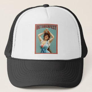 Oktoberfest  ~ Vintage Bavarian Advertising Poster Trucker Hat