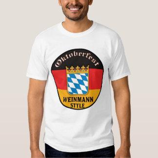 Oktoberfest - Weinmann Style T Shirt