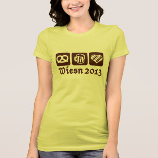 Oktoberfest Wiesn 2013 Camiseta