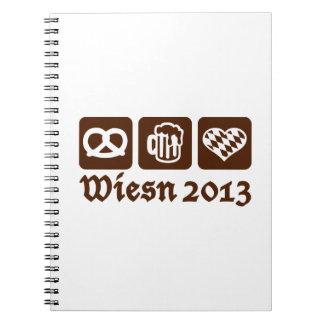 Oktoberfest Wiesn 2013 Cuadernos