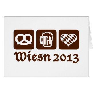 Oktoberfest Wiesn 2013 Felicitacion