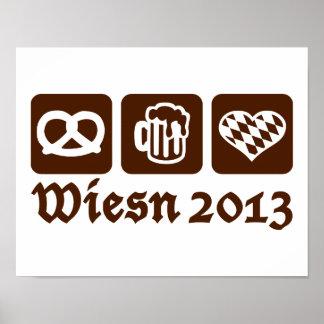 Oktoberfest Wiesn 2013 Posters