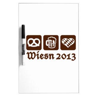 Oktoberfest Wiesn 2013 Tablero Blanco