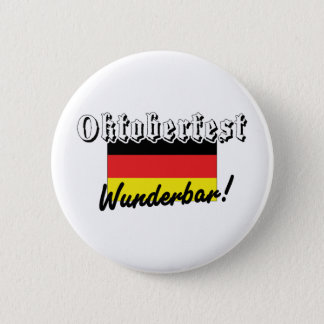 Oktoberfest Wunderbar Pinback Button