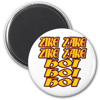Oktoberfest Zike Zake Magnet