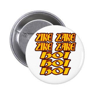 Oktoberfest Zike Zake Pin Redondo 5 Cm