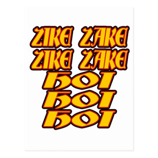Oktoberfest Zike Zake Postcard