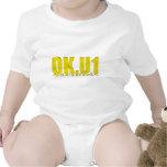 OKU1 en amarillo Trajes De Bebé