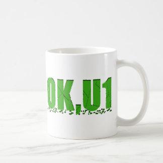 OKU1 in Green Coffee Mug