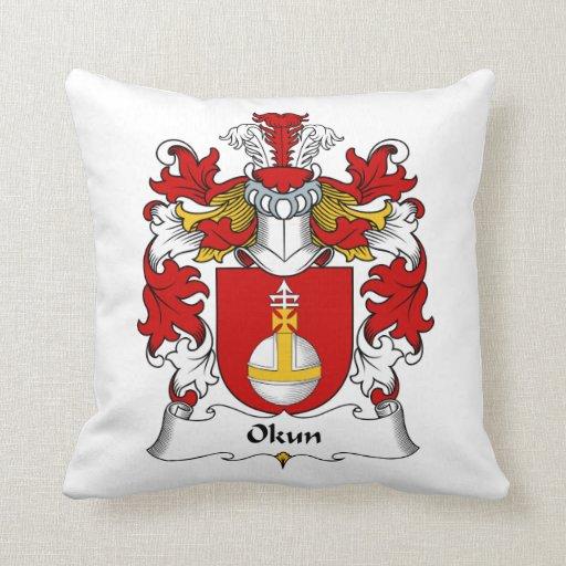 Okun Family Crest Pillows