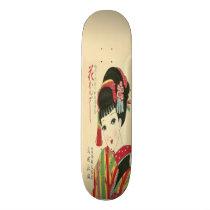 Okura, Anime Japanese Beauty Skateboard