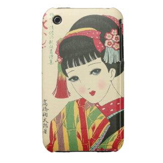 Okura, caja japonesa de la curva de Blackberry de iPhone 3 Case-Mate Carcasa