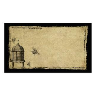 Ol' Beeskep & Bees- Prim Biz Cards