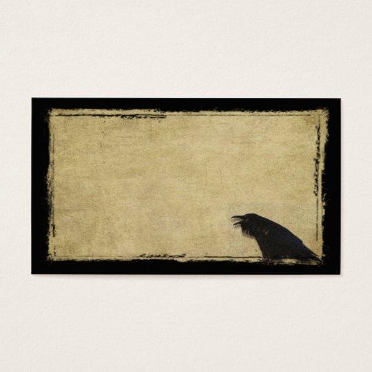 Ol' Black Raven- Prim Biz Cards