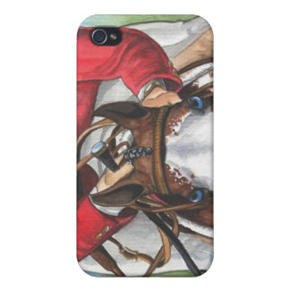 Ol' Blue Eyes Horse Art iPhone 4 Case