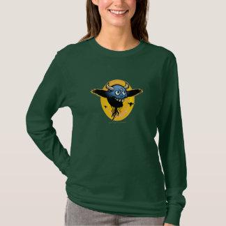 """Ol' Blue Eyes"" Ladies Army Green T-Shirt"