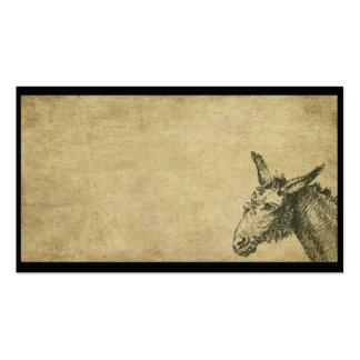 Ol' Donkey- Prim Business Cards