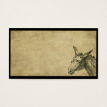 Ol' Donkey- Prim Business Cards