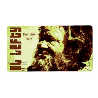 Ol' Lefty Beer Label