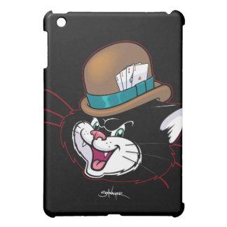 Ol' Nasty Cat black iPad cover