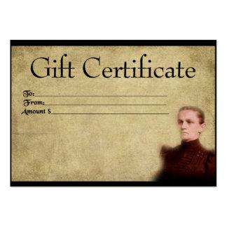 Ol' Prim & Proper- Prim Gift Certificate Cards