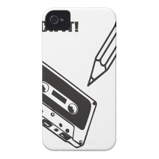 ol school cassette iPhone 4 Case-Mate case