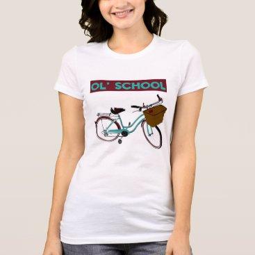 Beach Themed Ol' School Marychui Beach Cruiser T-Shirt
