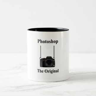 Ol Skool Two-Tone Coffee Mug