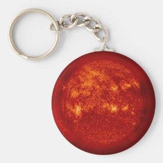 Ol' SOL-The Sun-In the Helium Wavelength Keychain