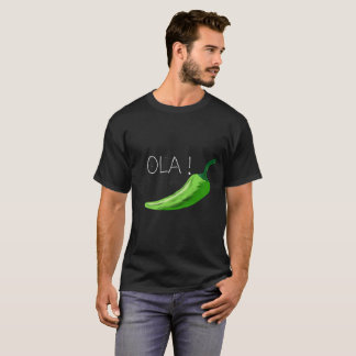 Ola Chili Men's T-shirt Design