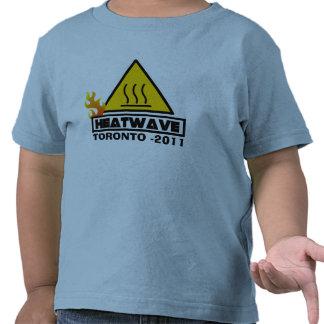 Ola de calor de 2011 veranos camiseta