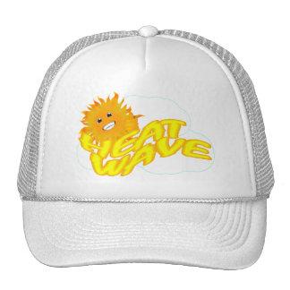 Ola de calor y Sr. Happy Sun Gorros